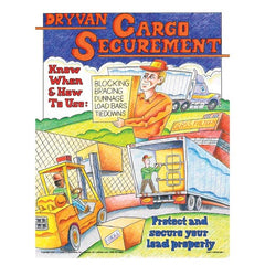 JJ Keller Dry Van Cargo Securement Training Program - Know-How & When to Use Securement Poster