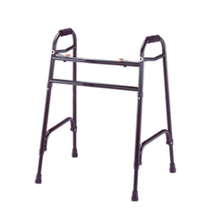 ProBasics Bariatric Two-Button Steel Folding Walker (Twin Pack)