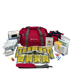 First Aid Only Emergency Preparedness, 24 Person, Large Fabric Bag First Aid Kit