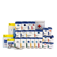 First Aid Only Large Smart Compliance First Aid Food Service First Aid Refill Pack, ANSI A+ Compliant with Medication