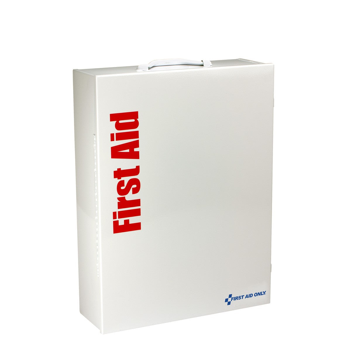 First Aid Only 150 Person XL Metal Smart Compliance First Aid Cabinet with Medication