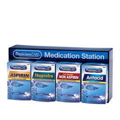 First Aid Only Physicians Care Medication Station