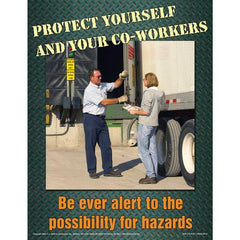JJ Keller Loading Dock and Warehouse Safety - The Ins and Outs Training Program - Awareness Poster