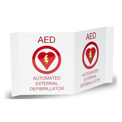ZOLL AED Plus® 3-D Wall Sign
