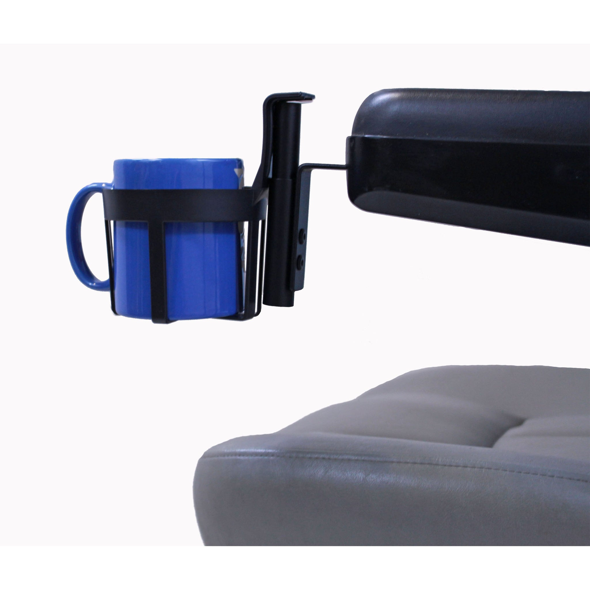 Diestco Cup Holder with Padded Armrests