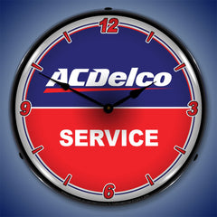 "ACDelco Service 14"" LED Wall Clock"