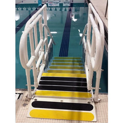 AquaTrek ADA Compliant Forward Walking Pool Ladder System