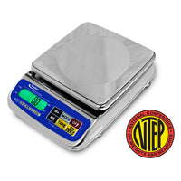 Intelligent Weighing AGS-1500BL Dual Range Toploading Bench Scale, 600/1500 g x 0.2/0.5 g, NTEP, Class III