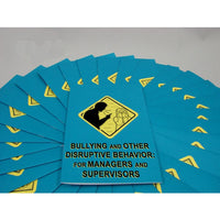 MARCOM Bullying and Other Disruptive Behavior for Managers and Supervisors Program