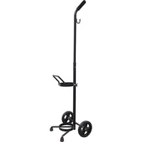 MERET® Single Cylinder MD/ME Adjustable Black Cart