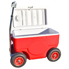 Cruzin Cooler Coolagon 50 Quart Ice Chest Wagon Trailer