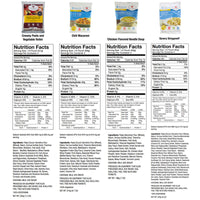 WISE Company Emergency Freeze Dried Breakfast and Entree Bucket - 56 Servings **NEW**