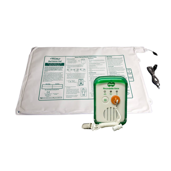 Smart Caregiver Dual Voice Recordable Pull String And Pad