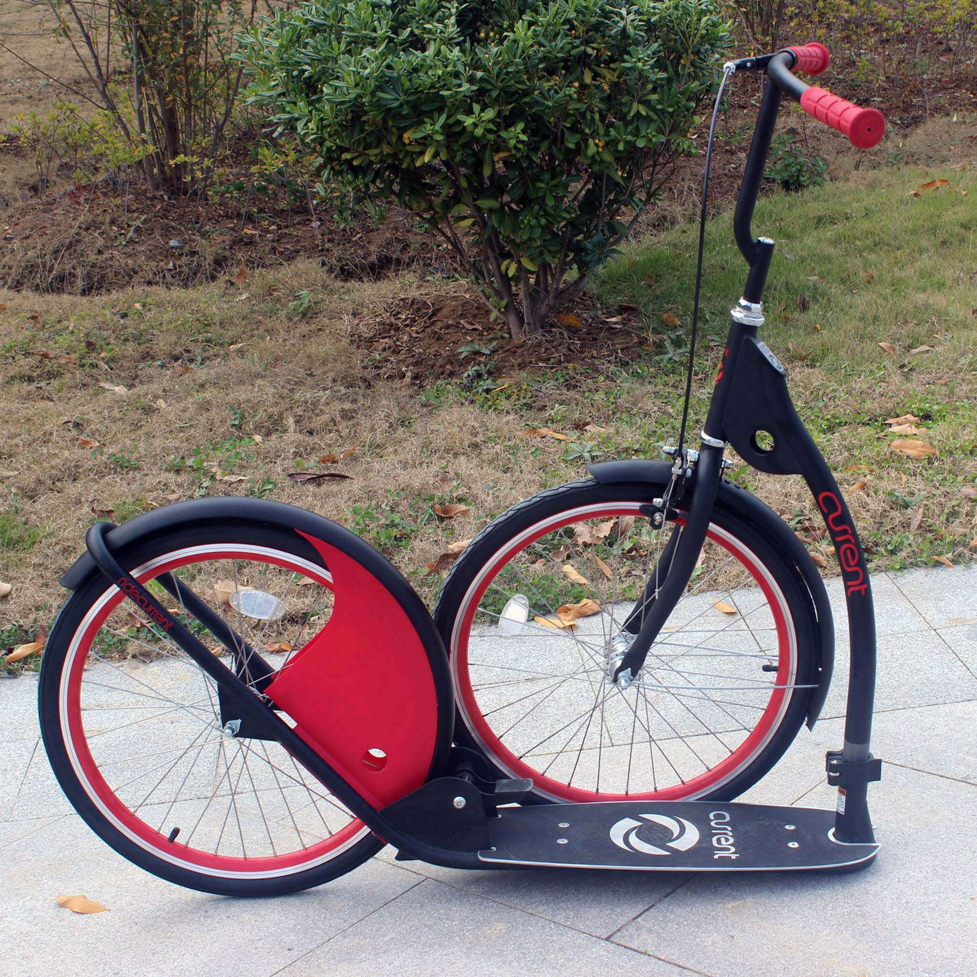 Current Coasters FOLDABLE Kickbike Scooter for Teens and Adults