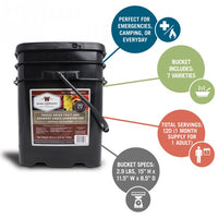WISE Company 240 Serving Freeze Dried Fruit Combo