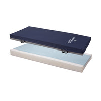 Joerns PrevaMatt Enmerse Raised Perimeter Mattress with 4-Way Stretch Zippered Cover and Fire Barrier