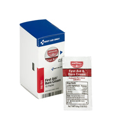 First Aid Only Smart Compliance Refill First Aid Burn Cream, 10 Per Box