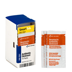 First Aid Only Smart Compliance Refill Antibiotic Ointment, 10 Per Box