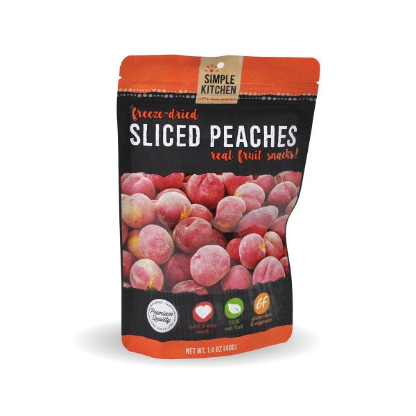 Wise Company Freeze-Dried Peaches - 6 Pack