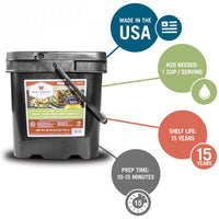 WISE Company 720 Serving Gourmet Freeze Dried Meat
