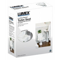 Graham Field Locking Raised Toilet Seat w/ Removable Armrests