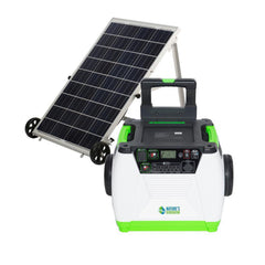Nature's Generator 1800W Solar & Wind Powered Generator - GOLD System