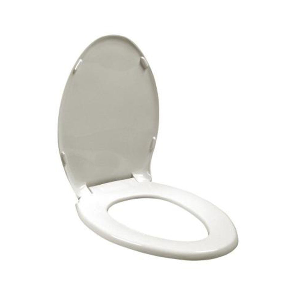 ConvaQuip Clip-on Style Commode Seat and Lid