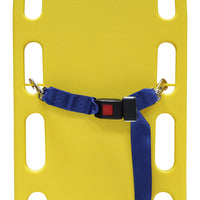 Kemp USA Two Piece Spine Board Strap with Metal Buckle