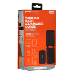 Power Traveller Extreme Water Resistant Rugged Solar Power Charger
