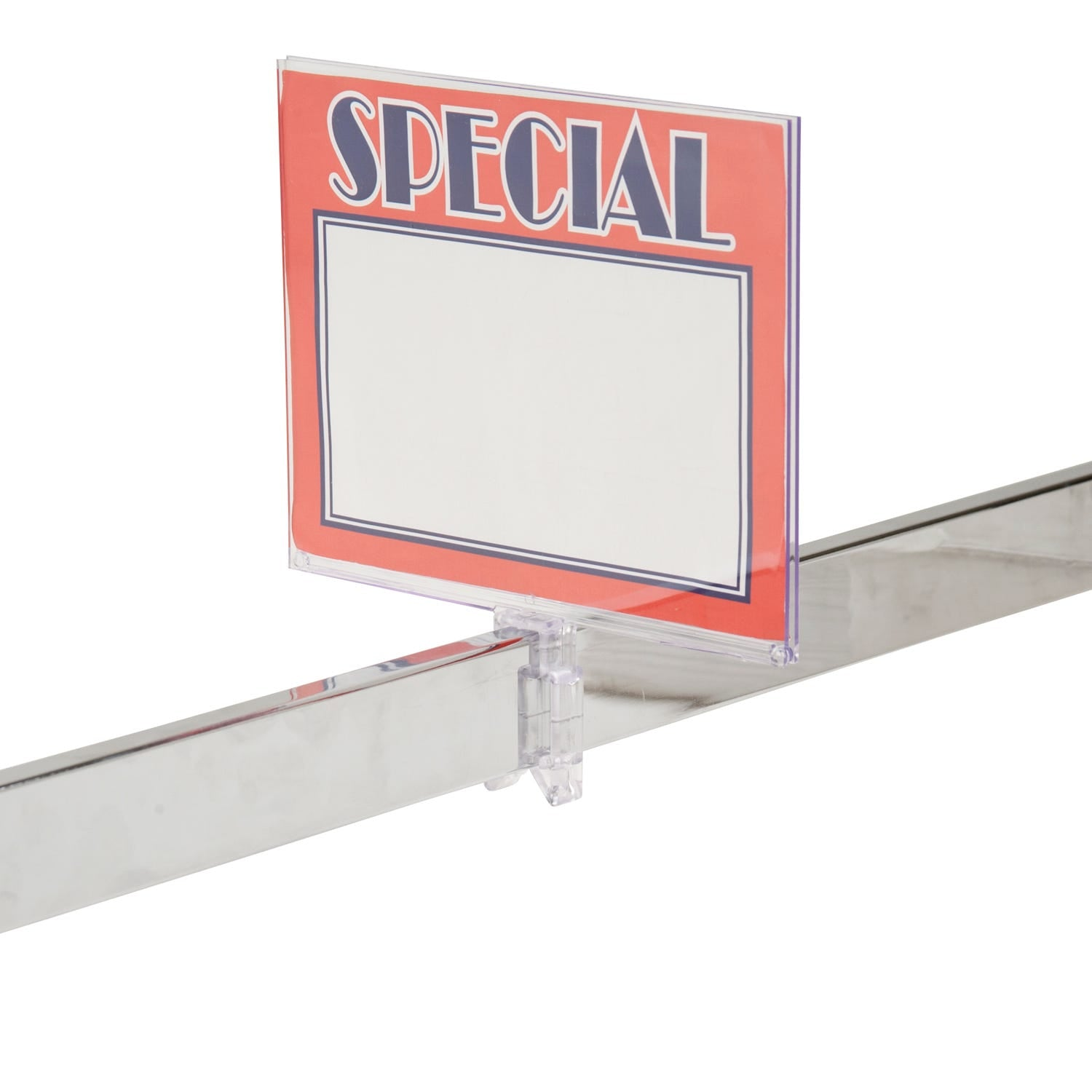 Econoco Polycarbonate Sign Holder With Clamp (24 Pcs. Per Carton)