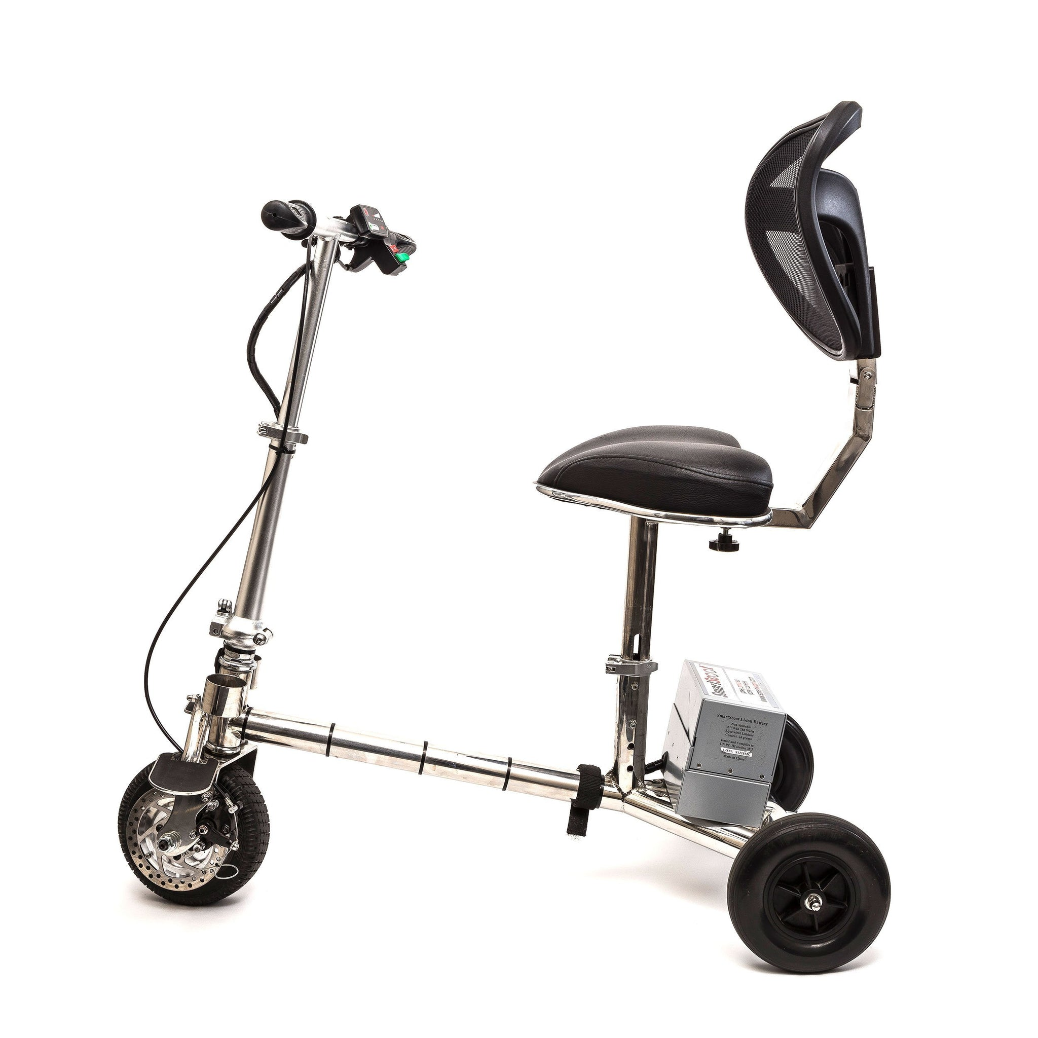 SmartScoot™ Lightweight Foldable 3-Wheel Mobility Scooter