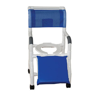 MJM Shower Commode Chair for Below Knee Amputees