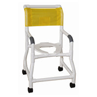 MJM Shower Chair with Flared Stability Base