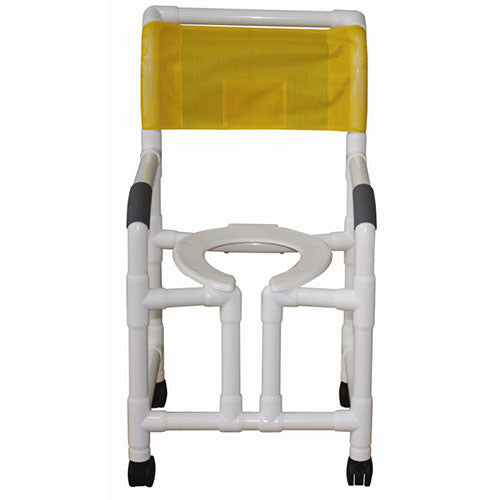 MJM Heavy Duty Vertical Open Front Shower Chair