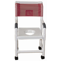 MJM Shower Chair with Snap On Vacuum Seat