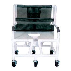 MJM Bariatric Shower Commode Chair