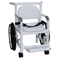 MJM Shower Transfer Chair with Full Support Soft Seat