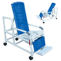 MJM Tilt-N-Space Shower Commode Chair