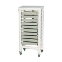 MJM Custom Rolling Medical Chart Binder Storage Rack