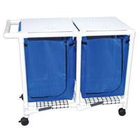 "MJM MRI Safe 47"" Double Bag Hamper"