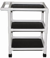 MJM Multi-Shelf Utility Linen Cart