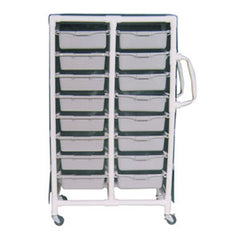 MJM Specialty Medical Cart with Pull Out Tubs