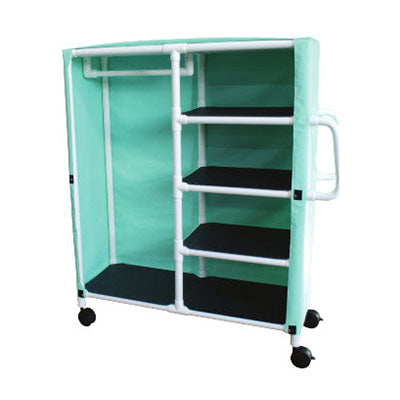 MJM Combination Cart with Shelves and Cover