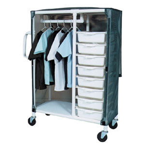 MJM Specialty Cart with Pull Out Tubs