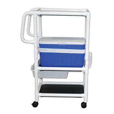 MJM Ice Cart With Extra Shelf
