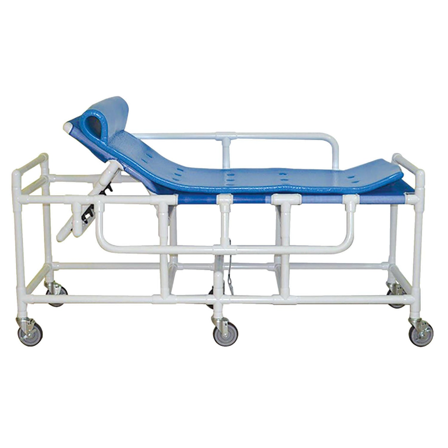 MJM Shower Gurney with Five Position Elevating Headrest