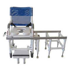 MJM All Purpose Deluxe Dual Shower Transfer Chair
