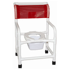 "MJM 22"" Echo Shower Chair with Pail"