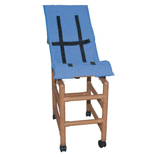 MJM Wood Tone Large Reclining Pediatric Shower Chair