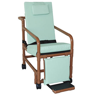 MJM Wood Tone Multi Position Geri Chair